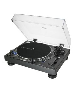 Audio-Technica LP140XP Direct-Drive Professional DJ Turntable - front angled view